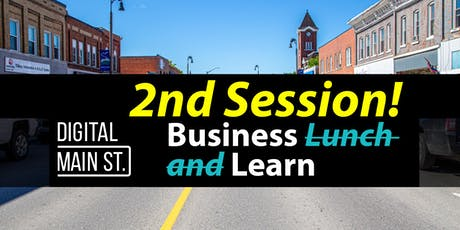 Business (2nd session) Learn: Digital Main Street Grant tickets