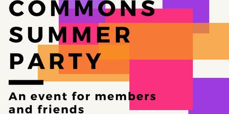 Commons Summer Party tickets
