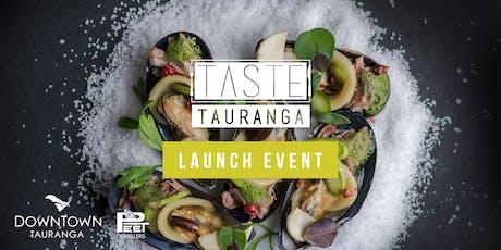 Taste Tauranga Launch Event tickets