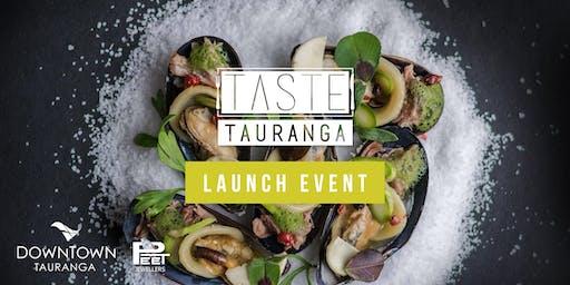 Taste Tauranga Launch Event