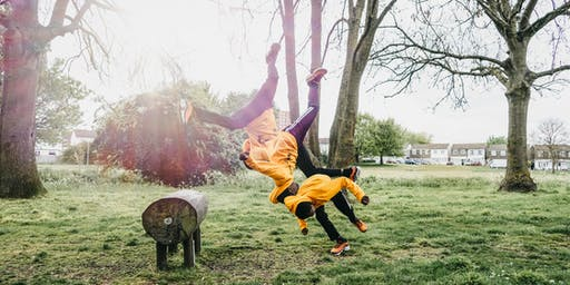Up Our Street: Pop Up Freerunning