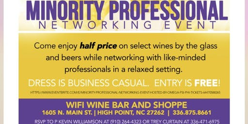 Minority Professional Networking Event (Hosted by Omega Psi Phi)