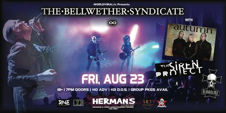 THE BELLWETHER SYNDICATE w/ Autumn / The Siren Project / DJ Bloodline / tba tickets
