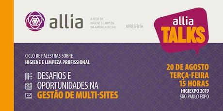 Desafios e oportunidades na gestão de multi-sites bilhetes
