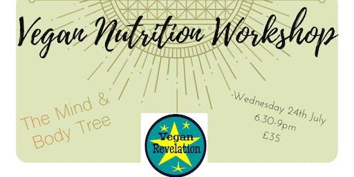 Vegan Nutrition Workshop