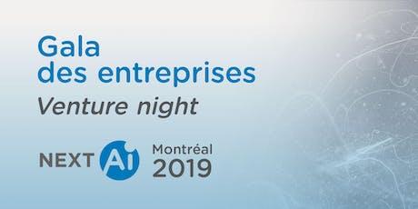 NextAI - Montréal: Gala des entreprises | Venture night tickets