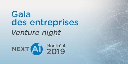 NextAI - Montréal: Gala des entreprises | Venture night
