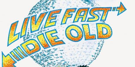 "Senioren Albertus Magnus Swingschuit ""Live Fast, Die Old"" tickets"