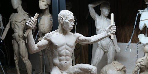 Realistic Figure Sculpture Class (Clay Sculpture)- Toronto, Danforth