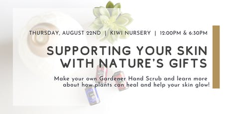 Supporting Your Skin with Natures Gifts: Essential Oil Make & Take tickets