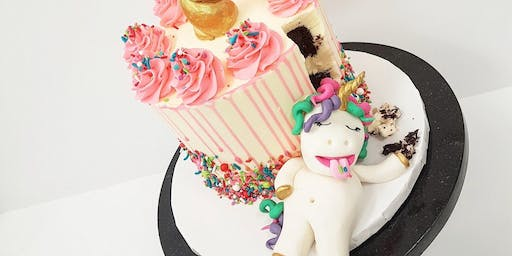 Chubby Unicorn Cake Basics Class - July 21 Morning