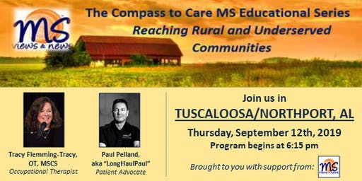 MULTIPLE SCLEROSIS Event in Tuscaloosa/Northport, AL: The Compass to Care