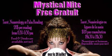 Mystic Night : Tarot and Numerology tickets
