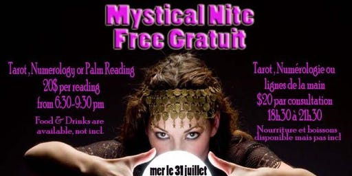 Mystic Night : Tarot and Numerology