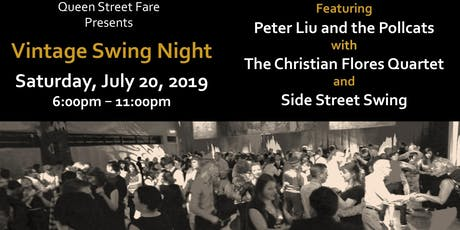 Vintage Swing Night at Queen St. Fare tickets