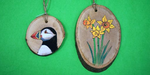 Pyrography & Painting