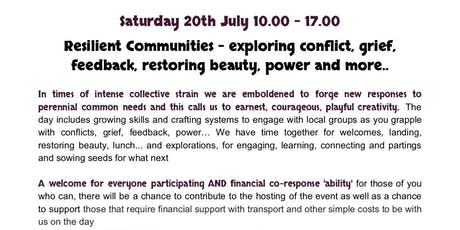 Resilient Communities - exploring conflict, grief, feedback and more... tickets