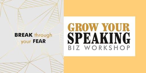 3-DAY GROW YOUR SPEAKING BIZ WORKSHOP