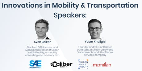 Innovations in Mobility & Transportation tickets