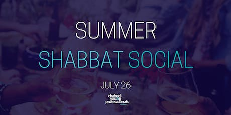 Shabbat Social - July  tickets