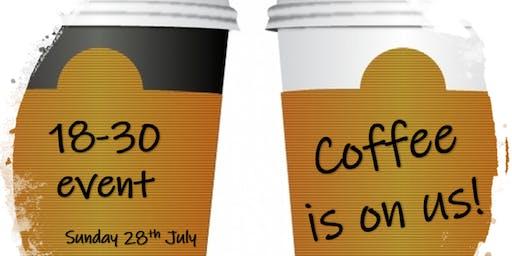 Coffee is on us! - Girlguiding Sheffield 18-30s event