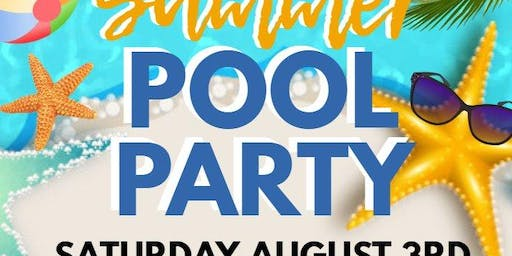 Dr. Anthony Bain Summer Pool Party