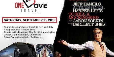 A Day on Broadway NYC - To Kill a Mockingbird tickets