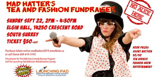 Mad Hatter's Tea and Fashion Fundraiser