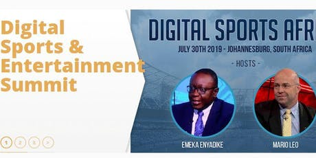 Digital Sports & Entertainment Summit tickets