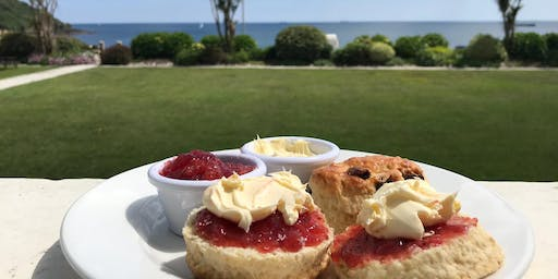 26 July - Cream Tea Time at The Falmouth Hotel