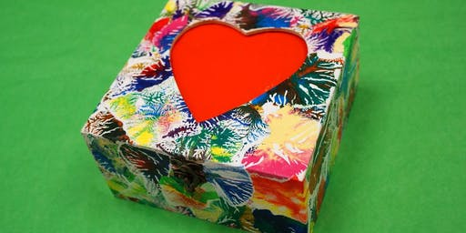 Decoupage Box Afternoon
