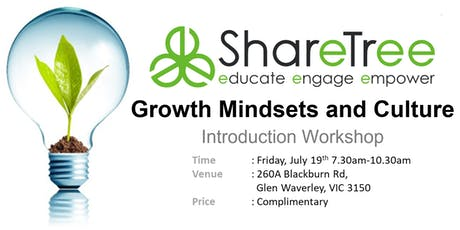 Growth Mindsets and Culture Introduction Workshop tickets
