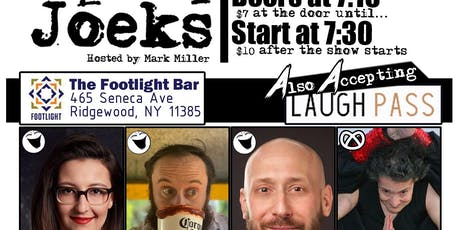 A Variety Show in July presented by [sic] Joeks tickets