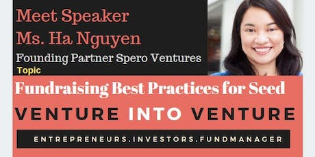 VC Founding Partner : Fundraising Best Practices for Seed Funding  tickets