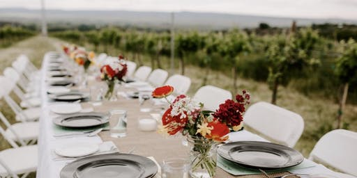 Asado-Style Wine Dinner in the Vineyard with Forage Sisters