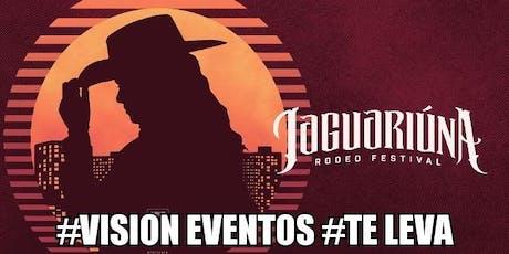 VISION Eventos te leva: Jaguariúna Rodeio Festival ingressos