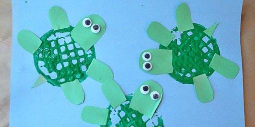 Turtle Story Time & Craft