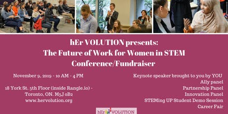 The Future of Work for Women in STEM Conference/Fundraiser   tickets