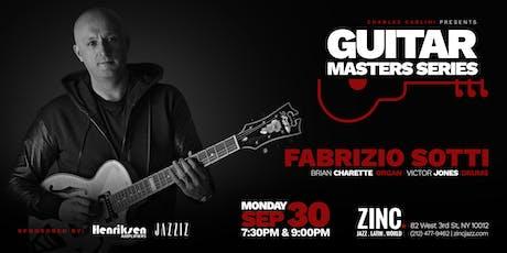 Guitar Masters Series: Fabrizio Sotti tickets