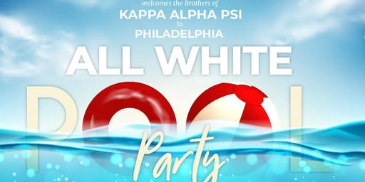 KAPPA ALPHA PSI All White Party