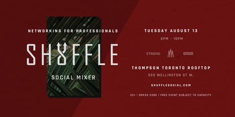 Shuffle Social Mixer - Networking for Professionals tickets