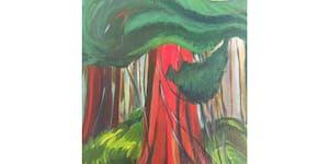 Red Cedar by Emily Carr Paint & Sip Night - Art...