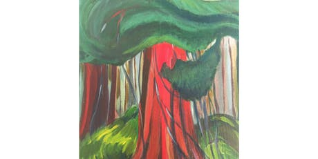Red Cedar by Emily Carr Paint & Sip Night - Art Painting, Drink & Food tickets