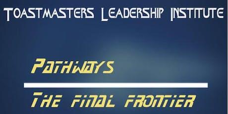 Toastmasters Leadership Institute - Summer 2019 tickets