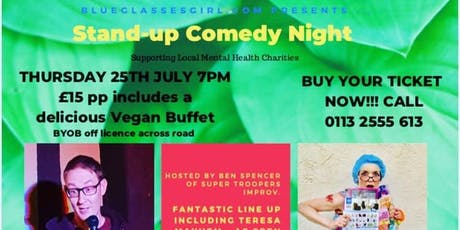 Stand up comedy night with buffet tickets