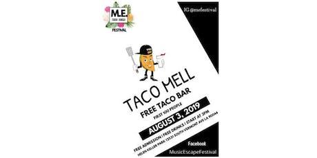 Free Taco Bar tickets