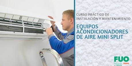 Curso de Instalación y Mantenimiento de Acondicionadores de Aire Mini Split entradas