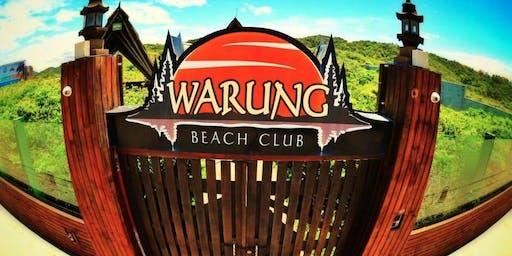 Warung Beach Club -12 de Outubro - Sábado