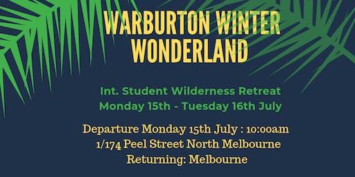 Warburton Winter Wonderland: Int. Student Wilderness Retreat