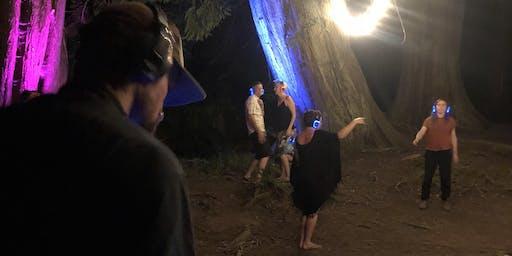 Silent Disco in the Woods: 3 Ghost DJs